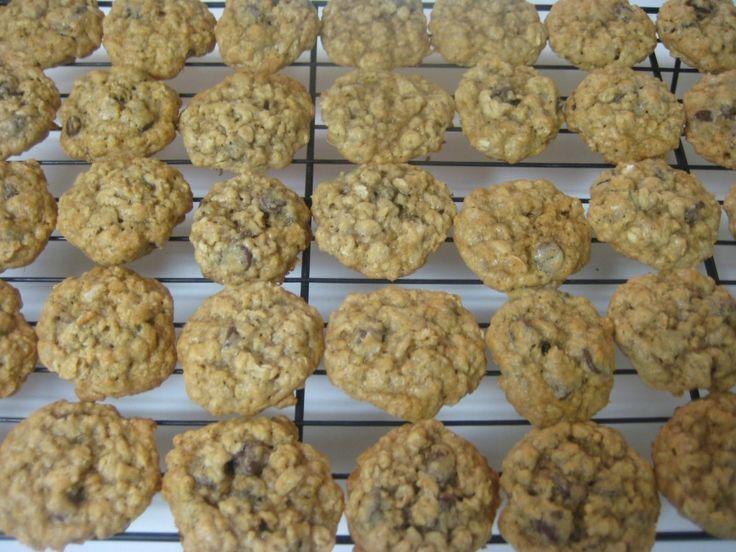 Vanishing Oatmeal Cookies.  This one has choc chips instead of raisins.