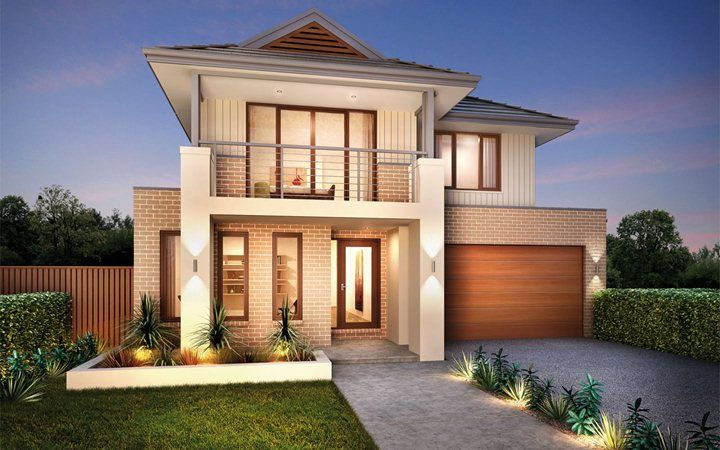 Metricon home designs the elysian plantation facade for Home designs victoria