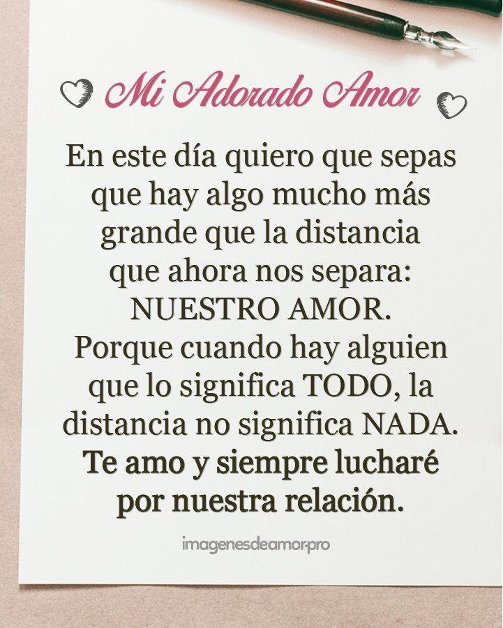 Carta De Amor A Distancia Cartasdeamor Love Words Love Phrases Love Quotes