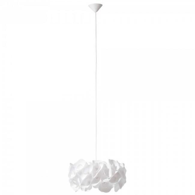 Brilliant Leuchten Sangu Pendelleuchte Weiß HK12094S05