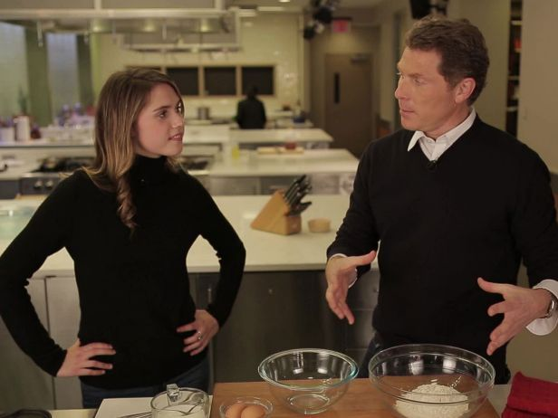 Watch Food Network's Bobby Flay do Dad duty when he teaches his daughter, Sophie, how to make two of her favorite dishes.