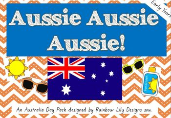 Activities for Australia Day or an Australian Unit #early years #education