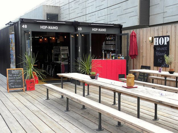 See what Boxpark has to offer. | 17 Things You Must Do When The Weather's Nice In London