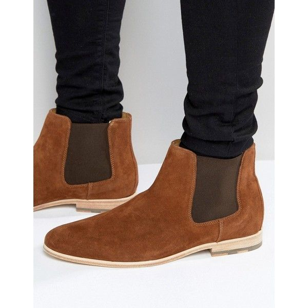 ALDO Jerenalia Suede Chelsea Boots (1,510 SVC) ❤ liked on Polyvore featuring…