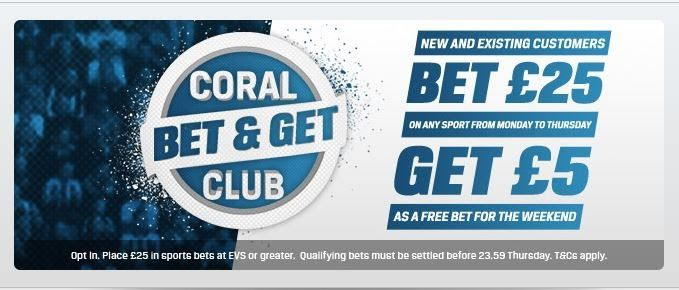 Coral, have introduced a brand new promotion for new AND existing customers that we know you will love!