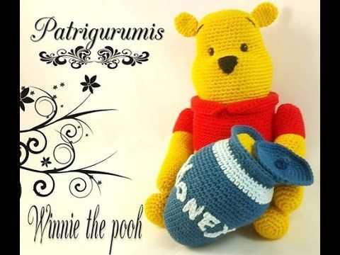 En este video os traigo un patrón de Winnie the pooh amigurumi, es de nivel…