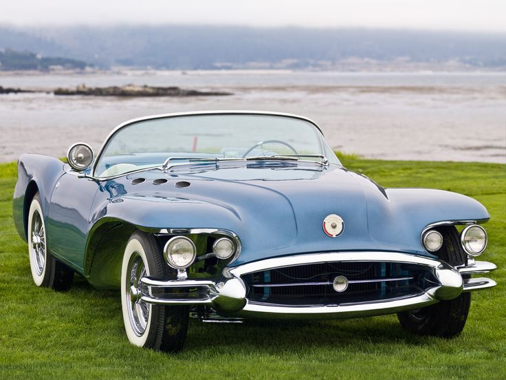 Buick Wildcat II Concept Car '54 … More