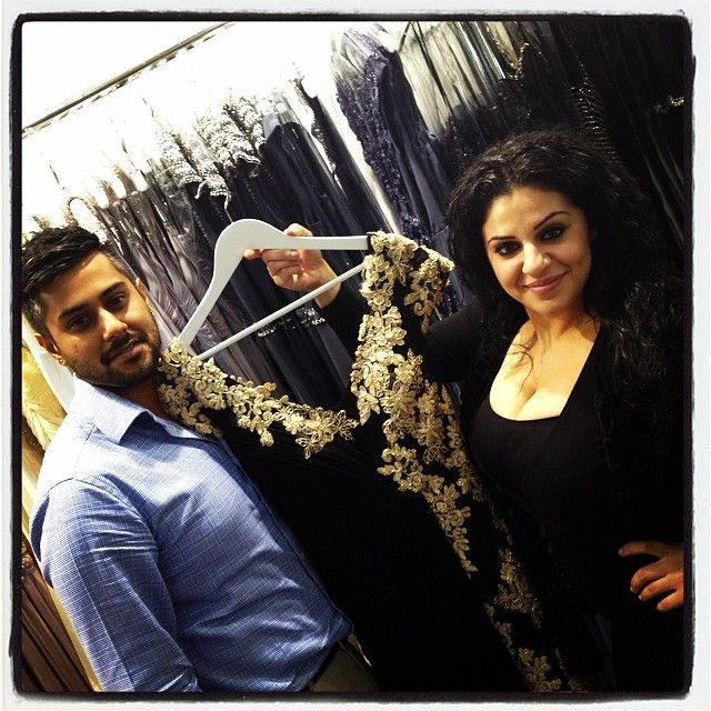Windsor & Lux!! So much fun with owner Raj with his right hand Suzie choosing dresses!! #fash...