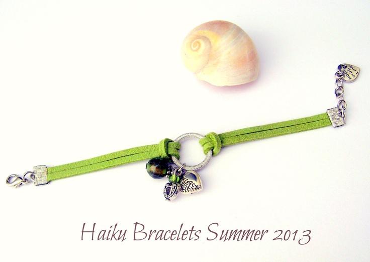 Handmade Haiku Bracelet by CKAS  https://www.facebook.com/cKas.bijoux