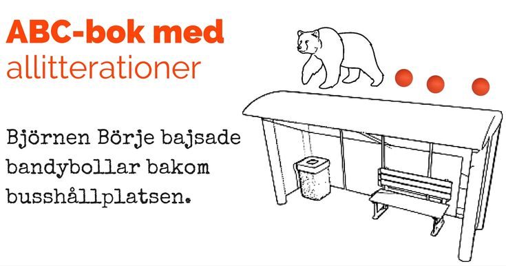 ABC-bok med allitterationer - Lektionsbanken.se - Lärare inspirerar lärare