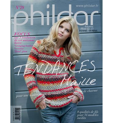 Catalogue Homme Femme n°79 - Catalogues tricot homme - Phildar
