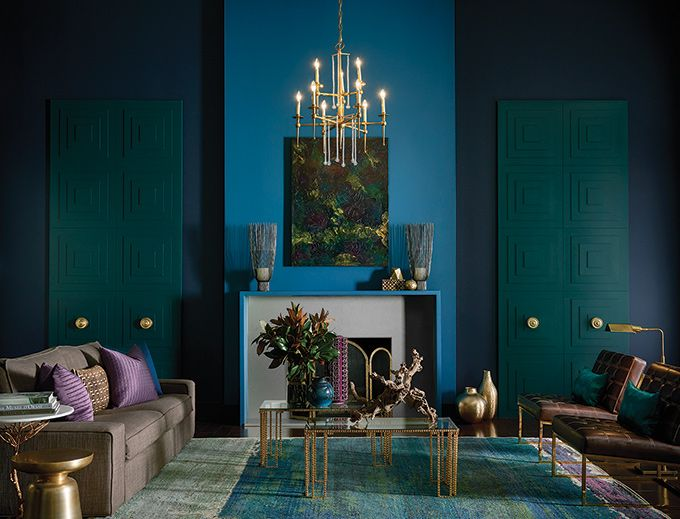 On the Creative Market Blog - Sherwin Williams Declares 2017's Hottest Paint Colors For Your Home