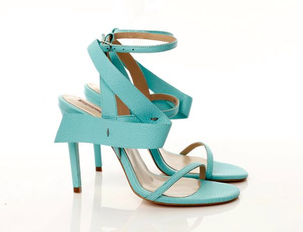 #mihaelaglavanss15 turquoise high heels sandals