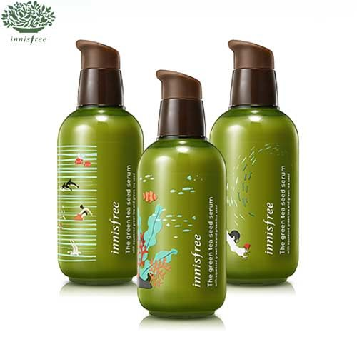 INNISFREE The Green Tea Seed Serum 160ml -Limited2016 limited edition - Upgraded & Big SizeA moisturizing serum with organic Jeju green tea and green tea seeds that hydrate your skin from deep within!1. More moisture and freshness with 100% gree