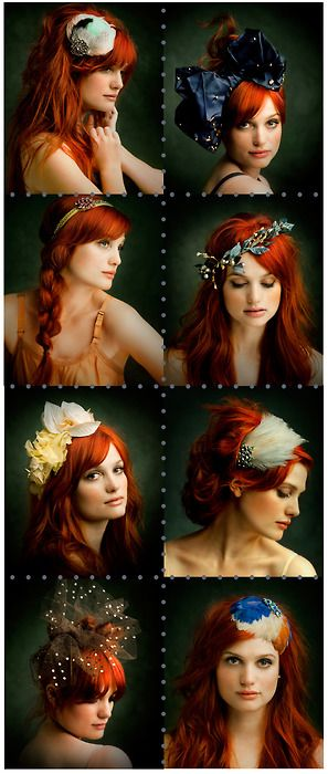 I don't know which category to go w/...you should give A Fine Frenzy a listen, she is dressed to impress, I do adore her, but I also have some SERIOUS hair color envy! That settles it. :)