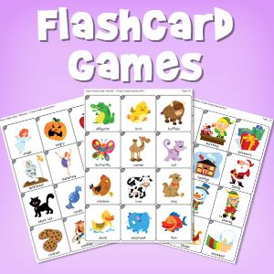 """""""Learning Games with Mini Flashcards"""" blog post, from Super Simple Learning."""