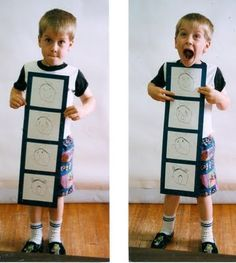 This makes my heart happy! Helping kids learn feelings! Drawing emotions. Fantastic for K-2.