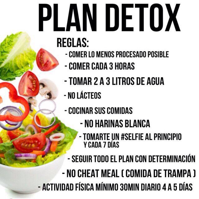 Aquí les dejo los Dia 1 , 2 y 3 del plan Detox para aprender a llevar una vida saludable lo importante es seguir las formulas para saber las porciones leer el post de esta mañana con la panqueca HULK , allí les hablo en detallado de las porciones de las mujeres y hombres. Desde mañana les daré recetas y plan de ejercicio : DÍA 1⃣, 2⃣ y 3⃣ Comida 1⃣ 8oz de agua tibia con limón Jugo verde : 3 vegetales verdes 1 fruta Comida 2⃣ Proteina + Carb complejo + vegetales + grasa Buena Media mañana: 1…