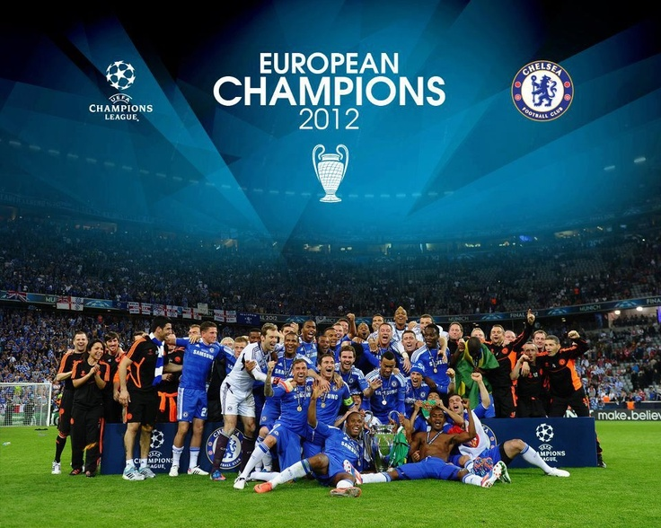 European Champions 2012 #ChelseaFC #Winners #UCL2012 #ChampionsLeague