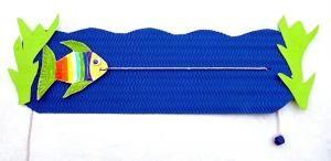 bastelsachen/basteln-Tiere-Fisch-schwimmt-links SITO ++++