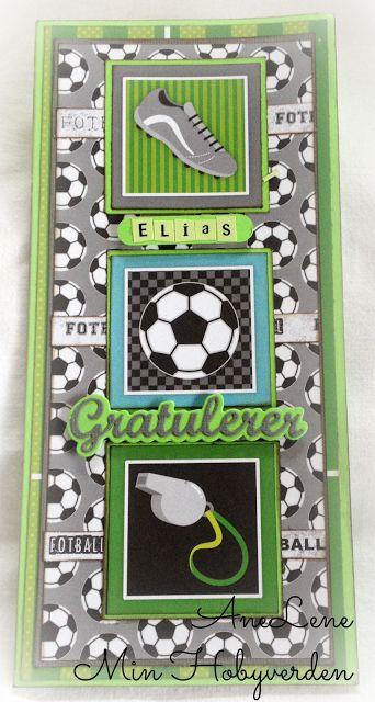 Min hobbyverden: Pengelommekort til en fotballgutt