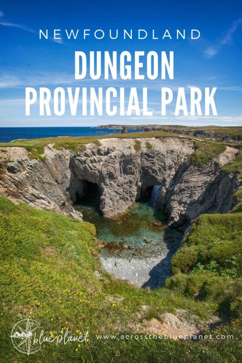 Newfoundland - Dungeon Provincial Park #travel #newfoundland #canada #seacaves #coastal