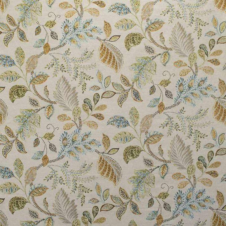 Warwick Fabrics : BIRCHWOOD DELFT