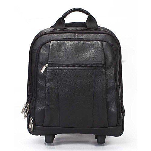 #Black #Backpack #Office #Strolley #Bag By #Brune