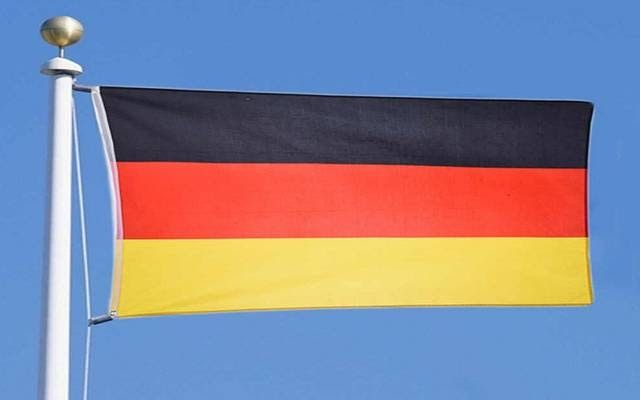 مباشر تباطأ النمو الاقتصادي في ألمانيا لأدنى مستوى في 6 أعوام خلال العام الماضي وهو ما يوضح تداعيات التوترات التجارية العالمية و Country Flags Flag Us Flag