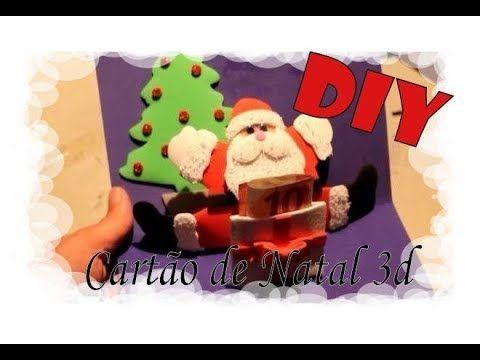 DIY - Cartão de Natal 3D