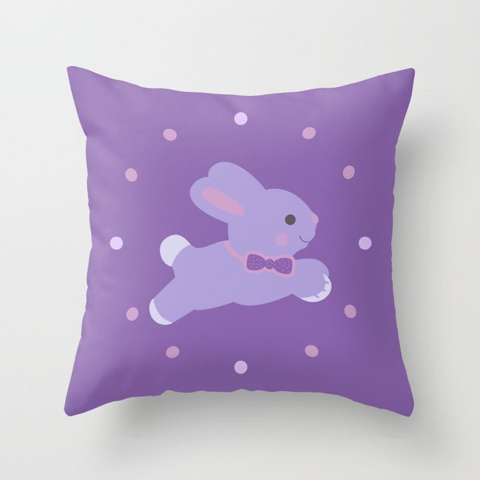 Baby Bunny Throw pillow #throwpillows #pillow #livingroom #gifts #homegifts #homedecor #online #shopping #39 #giftsforher #giftsforhim #pattern #style #art #redbubble #scardesign #home #family #bedroom #kidsroom #modern #baby #babyroom #bunny #babybunny #babyshower #newborn #mommy