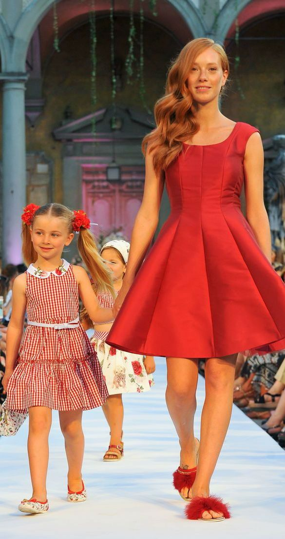 48af48cefddc23 Love this MONNALISA Mommy & Me Red Gingham Dress. Made in a red gingham  check from a gorgeous polyester silk, this dress by Monnalisa Bimba is a  perfect ...