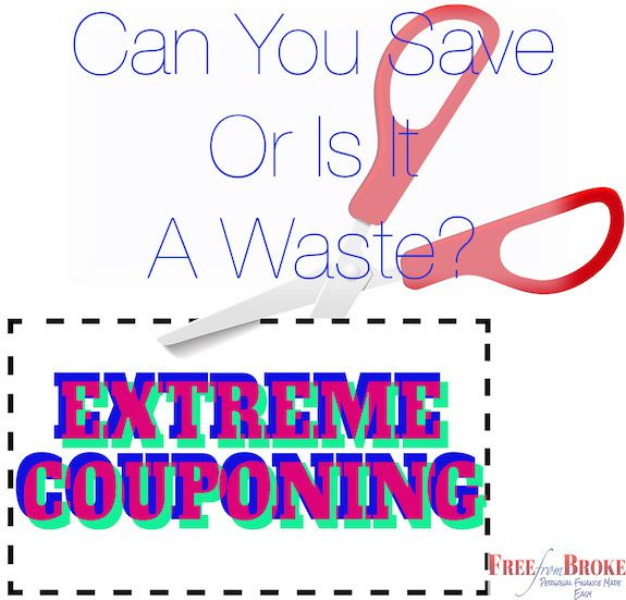 Does extreme couponing go too far? Or is it a waste of valuable time. Seems to me that most people would be better finding another use for their time and energy. http://freefrombroke.com/extreme-couponing-do-you-really-save-or-is-it-a-waste-of-time/