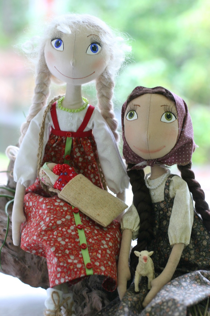 OOAK Handmade cloth dolls by Fancydolls #artdoll, #clothdoll, #doll, #fancy, #handmade