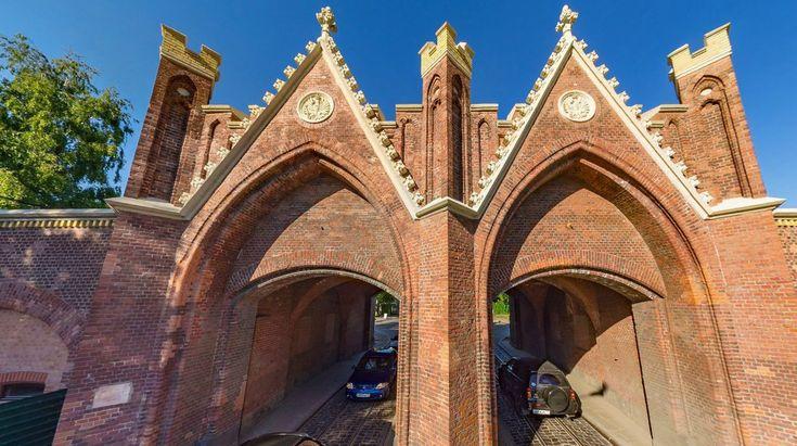 Панорамные фотографии Калининграда Бранденбургские ворота