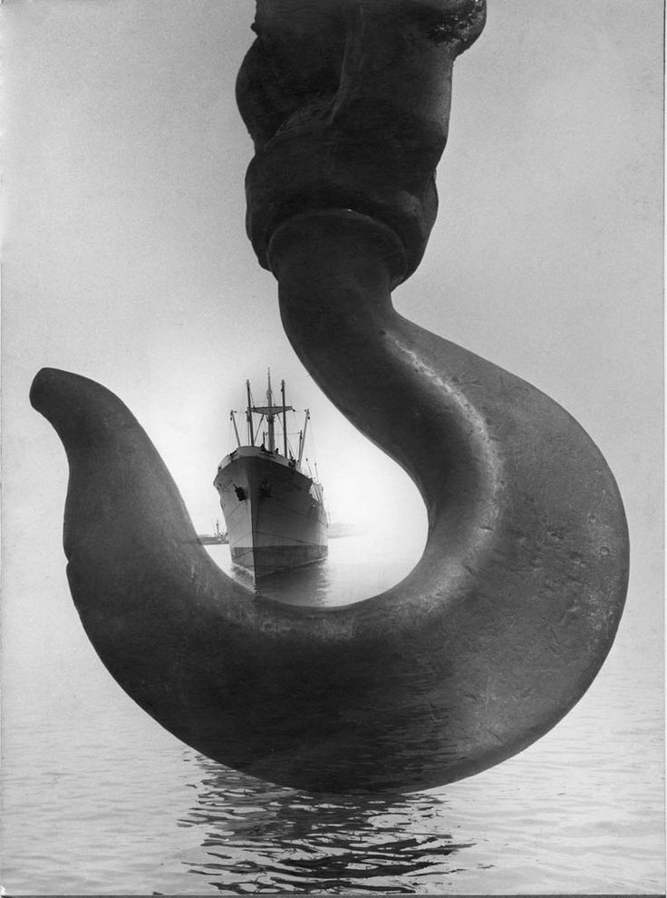 Leo Matiz: El ancla, Santa Marta, Colombia, 1952