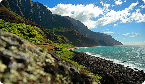 Hanalei Bay and the Kalalau Trail (Kauai, HI)