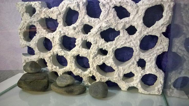 Фон 3d рифовый в аквариум. В наличии (450х260х50) и на заказ любых размеров.