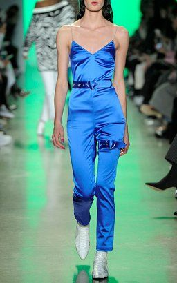 Cami Catsuit by Adam Selman Fall Winter 2018