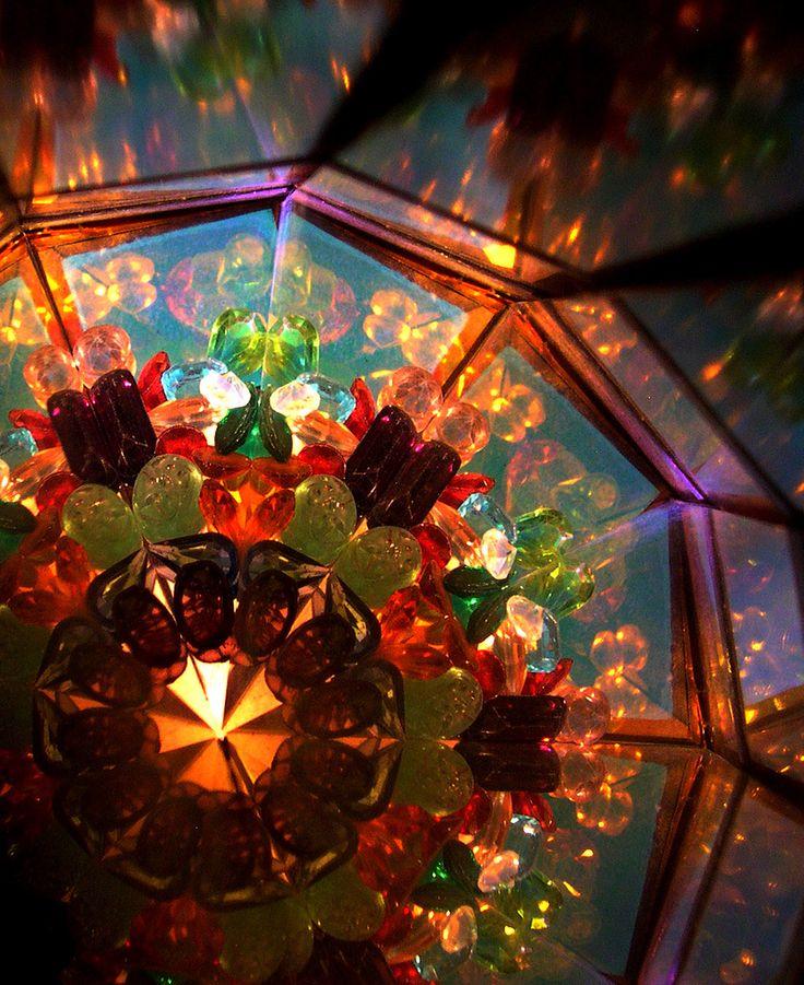 kaleidoscope.… I love them!!!! One of these days I am going to splurge on a really beautiful Kaleidoscope