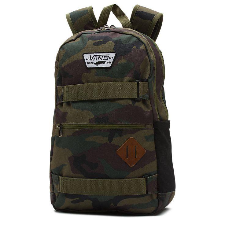 Zaino Vans authentic backpack  III military + astuccio DC omaggio