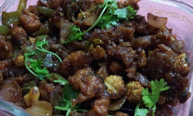 Maluz Culinary: Baby Corn Manchurian