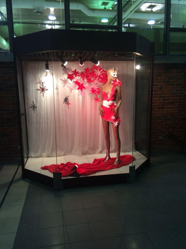 Projet Noël à RIO - vitrine