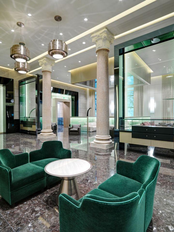 Excelsior Hotel Gallia By Studio Marco Piva Milan Italy Retail Design Blog
