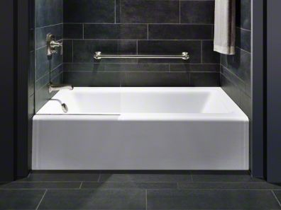 The 25 best standard tub size ideas on pinterest glass for Alcove bathtub dimensions