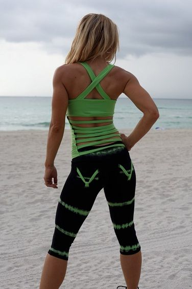 WANT the singlet! Please ❤ Equilibrium Activewear C333 Women Fitness Clothing