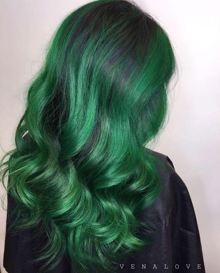 Best 25+ Emerald green hair ideas on Pinterest | Ombre ...