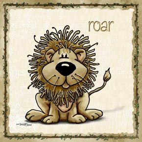 childrens art with lions | loopy the lion kids wall art 13110 loopy the lion is king of the ...