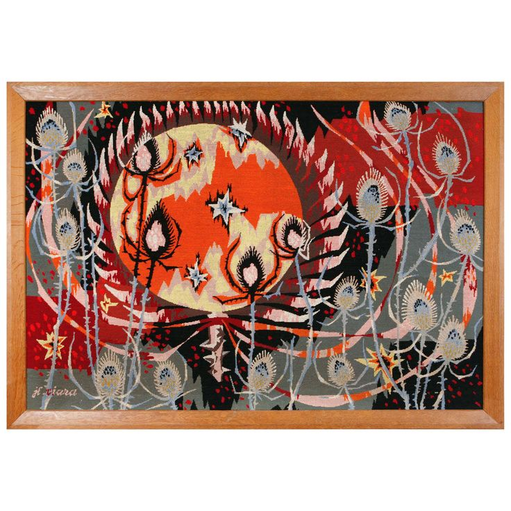 J.L. Viard Signed Tapestry   From a unique collection of antique and modern tapestries at https://www.1stdibs.com/furniture/wall-decorations/tapestry/