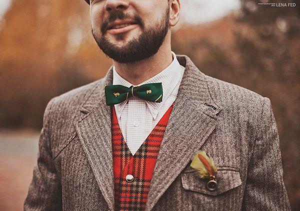 жених в шотландском стиле #groom #look